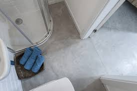 Concrete Floor Bathroom - bathroom concrete flooring screed bautech