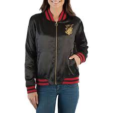 harry potter alumni shirt harry potter black juniors bomber jacket tvmoviedepot