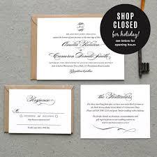 Order Wedding Invitations Pre Order For 18th May Printable Wedding Invitation Pdf