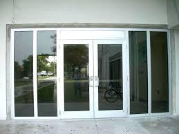 Parts Of An Exterior Door Commercial Front Door Office Design Modern Glass Front