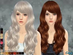 hair color to download for sims 3 cazy s sorrow hairstyle sims 4