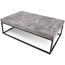 coffee table concrete top outdoor coffee table tufted molds cement
