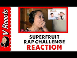 Challenge Reaction Superfruit Rap Challenge Reaction