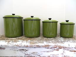 Canister For Kitchen by All You Need To Know About Green Kitchen Canisters Green Town Joplin