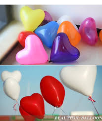 balloon grams 10 inch 1 5 grams heart pearl thickening balloons 2018 new