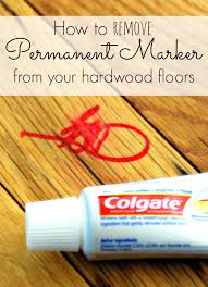 permanent marker removal