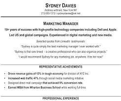 resume examples profile section bongdaao com