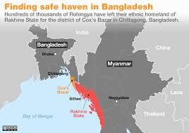 World Map Actual Size Rohingya Crisis Explained In Maps