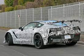 chevy corvette zr1 specs spied 2018 chevrolet corvette zr1 tests at the nurburgring