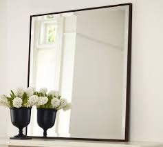 Pottery Barn Beveled Mirror Upton Mirror Pottery Barn 169 The Simple Frame And Square Shape
