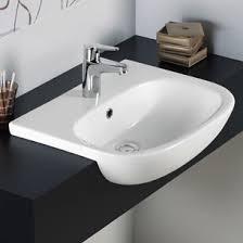 semi recessed bathroom sinks semi recessed basins tap warehouse tap warehouse