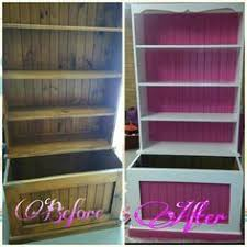 Toy Box Bookshelf Combo Plans Dollhouse Bookcase With Toybox Home Decor And Style Pinterest