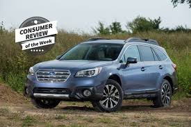 blue subaru 2017 consumer review of the week 2017 subaru outback news cars com