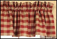 Red Kitchen Curtains And Valances by Window Curtain Valances