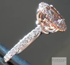 rings pink diamonds images Pink diamond engagement ring not sure how to feel about this but jpg