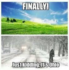 Ohio Meme - to the weather in ohio