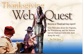 learning with mr losik thanksgiving webquest