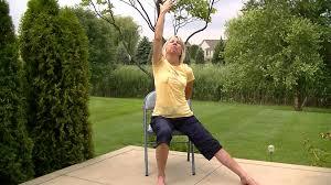Chair Yoga Poses Warrior Poses Chair Yoga Youtube
