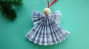 Angel Christmas Tree Decorations Make by Paper Angel How To Make A Paper Angel Weihnachtsengel