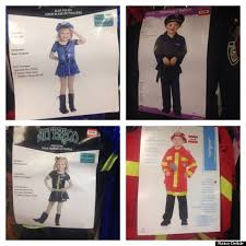 Police Halloween Costumes Kids Problem Gendering Kids U0027 Halloween Costumes Othering
