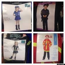 Kids Police Halloween Costume Problem Gendering Kids U0027 Halloween Costumes Othering