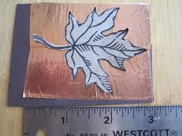 copper foil tape leaves dianne faw