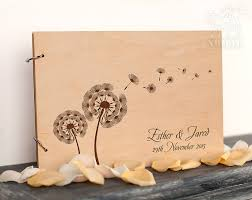engravable wedding guest book wedding guest book guestbook rustic wedding guest book