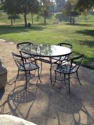 Refinishing Patio Furniture by Enthralling Refinishing Iron Patio Furniture Of Antique Black