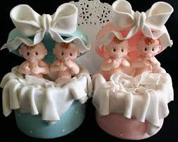 twins cake topper twins baby shower baby shower cake topper