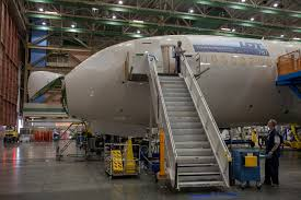 a preview of lot polish airlines boeing 787 dreamliner lot s first boeing 787 dreamliner on the boeing factory floor in everett photo from lot