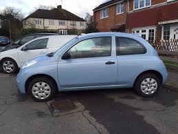 nissan micra for sale light blue nissan micra initia for sale 2006 56 plate 65 000
