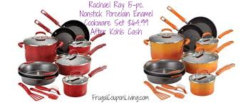 rachael ray thanksgiving rachael ray 15 pc nonstick cookware set 64 99 from 199 free