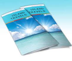 island brochure template indesign tri fold brochure template free