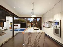 marble island kitchen modern marble kitchen designs