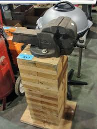 Mechanics Bench Vise Mechanics Bench Vice With Wood Stand