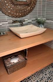 98 best stone sinks inspiration images on pinterest bathroom