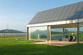 small modern barn design idea with shed roof also metal roofing cozy small modern barn architecture with glass screens also hip roofing