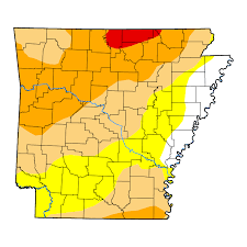 us map of arkansas united states drought monitor current map state drought monitor