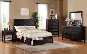 bedroom exquisite dark brown wooden cabinet on laminate flooring