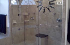 shower popular glass block walk in shower plans commendable
