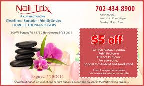 coupon nail salon henderson nail salon 89014 nail trix