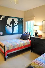 Football Wall Murals by A New Room To Share My Boy U0027s Room Evolution Of Style