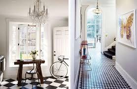 carrelage cuisine damier noir et blanc stunning cuisine avec carrelage noir et blanc photos design