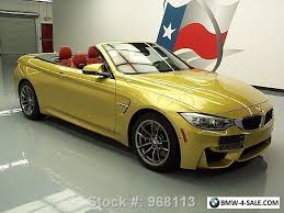 2015 bmw m4 convertible 2015 bmw m4 convertible executive m dct nav hud for sale in united