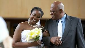why does a father walk the daughter down the aisle reference com