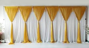 wedding backdrop gold 6 panel detachable gold grecian overlay for wedding backdrop