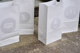paper bag luminaries halloween paper bag luminaries for the