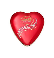 chocolate heart box lindt lindor chocolate heart box 62g swiss made direct