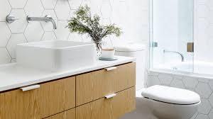 White And Timber Bathroom Design Ideas - White bathroom designs