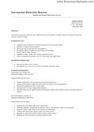electrician resume template resume template for electrician electrical technician exle